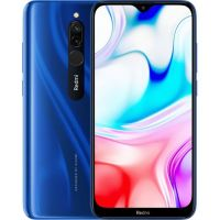 Xiaomi Redmi 8 4/64gb Blue (Голубой сапфир) Global Version EU
