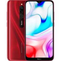 Xiaomi Redmi 8 4/64gb Red (Рубиново-красный) Global Version EU