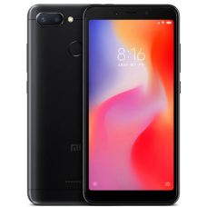 Xiaomi Redmi 6 4/64gb Black (Черный) Global Version EU