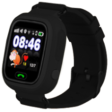 Smart Baby Watch Q80 Black (Черные)